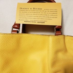 Dooney and Bourke purse and wrislet.
